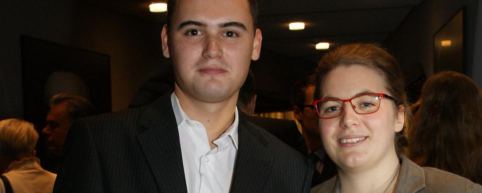 Portrait Katharina Calmer und Andreas Derksen