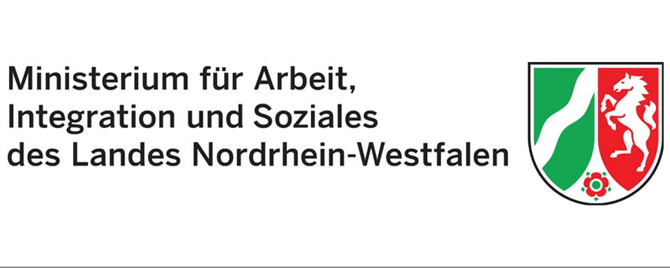 Logo Ministerium für Arbeit, Integration und Soziales des Landes Nordrhein-Westfalen